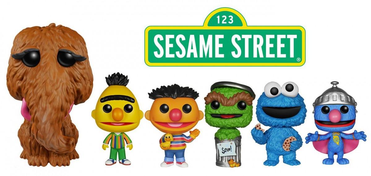 Sesame Street Funko Pops