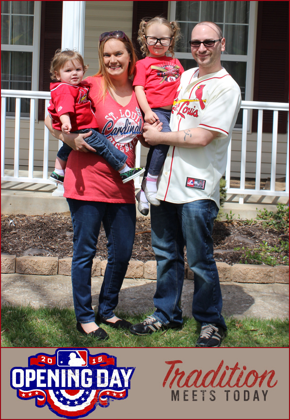 Cardinals Family-withBorder