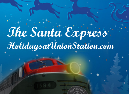 over the last few weeks i have been getting a lot of hits on my post from last year about our trip to union station to ride the polar express