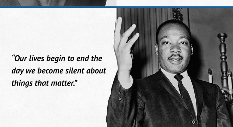 MLK Quote Infographic